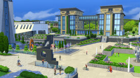 Image for The Sims 4 university: how to get degrees