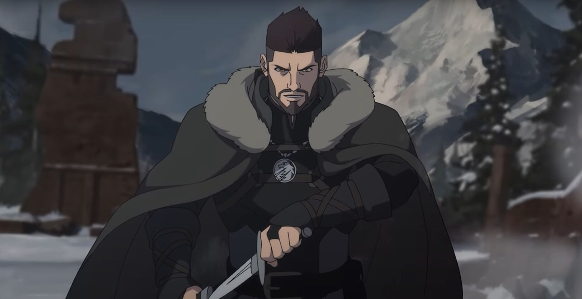 The Witcher: Nightmare Of The Wolf teaser gives first look at anime prequel  | Rock Paper Shotgun