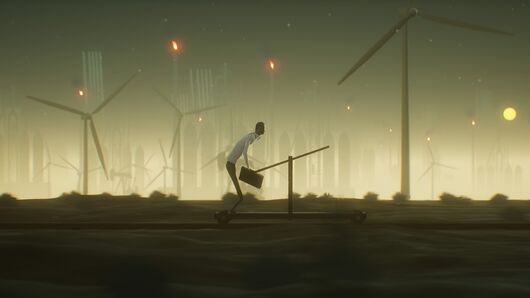 Image for Commuting home from work turns mighty spooky in this indie game