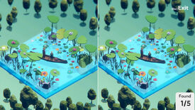 Image for Spot the difference in 3D dioramas with this upcoming game