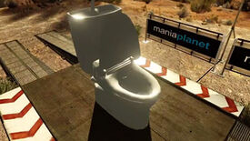 Image for Trackmania 2, Now With More Toilets