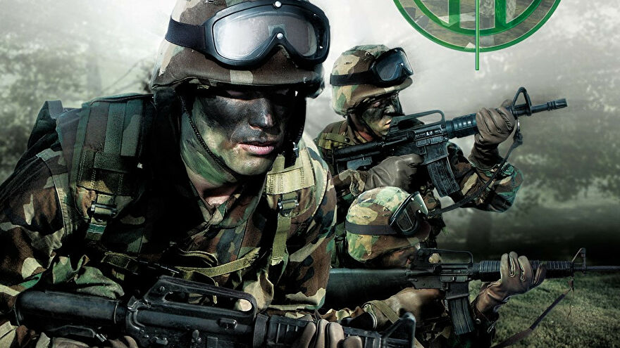 Special forces fellas on the Tom Clancy's Ghost Recon box art.