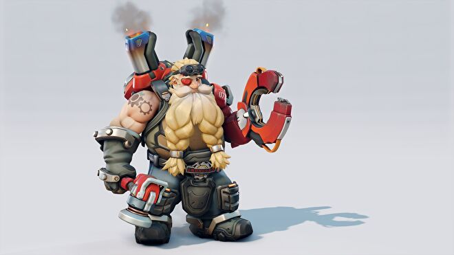 Torbjorn's new look in Overwatch 2. It's not that different from the first game.