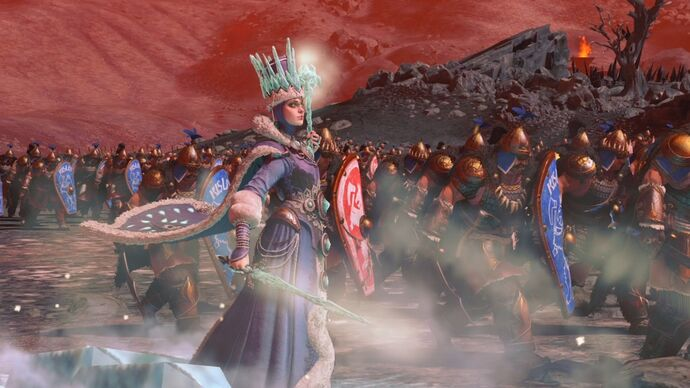 Image for Total War: Warhammer 3 brings tower defence and lakes of sick to Total War