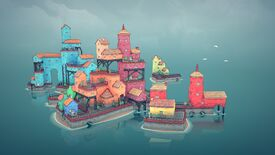 Image for Cute town building toy Townscaper has left early access