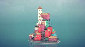 Image for Procedural building toy Townscaper will let you construct lovely seaside villages