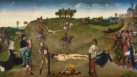 Image for Art history-mangling adventure The Procession To Calvary turns to crowdfunding