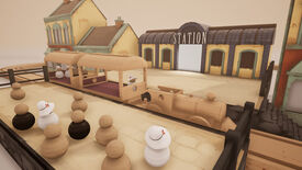 Image for Tracks - The Train Set Game challenges you to pick up tiny wooden commuters from your furniture