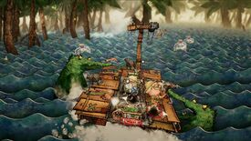 Image for Trash Sailors is a co-op raft ride through troubled waters