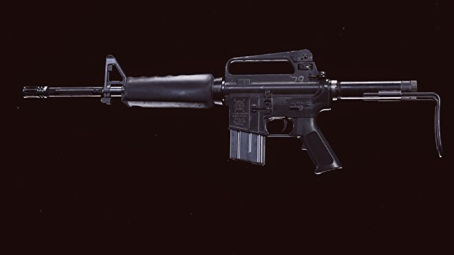 An M16 in Warzone