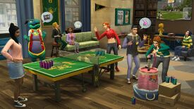 Image for The Sims 4 Discover University is a millennial horror game