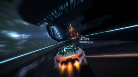 Image for Gravity-defying cyber-racer Distance boosts out of early access in September