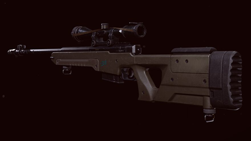 The LW3 Tundra Sniper Rifle in Warzone