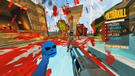 Image for Ultrakill's demo offers a colourful Quake-like where blood is fuel