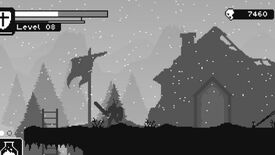 Image for Unworthy is a minimalist monochrome Dark Souls
