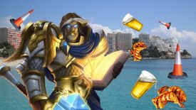 Image for Hearthstone's Uther Lightbringer: absolute lad