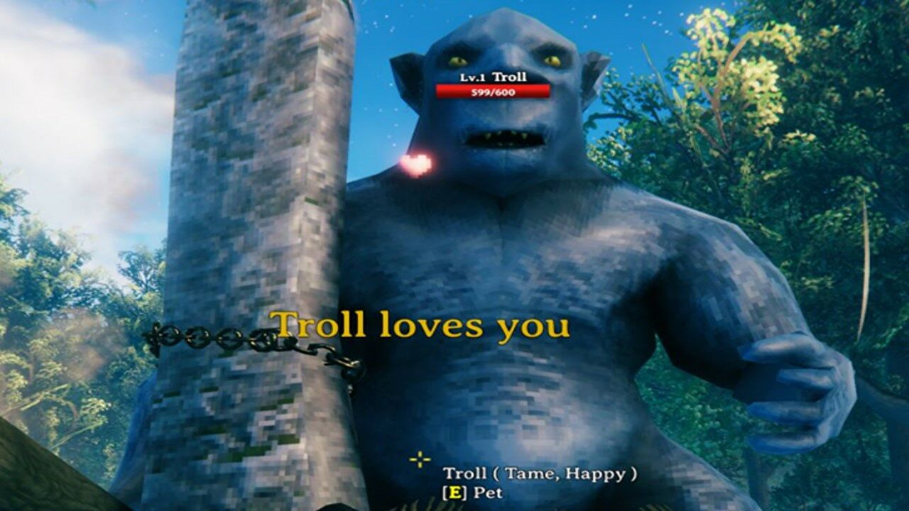 This Valheim mod lets you tame and breed trolls