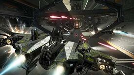Image for EVE: Valkyrie Gets A Death Star-Esque Trench Run Mode