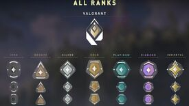 Image for Valorant ranked guide: all ranks and badges explained