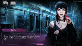 Image for Another Vampire: The Masquerade visual novel is coming this year