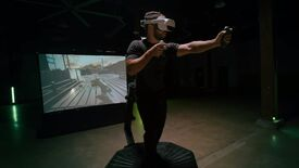 Image for Virtuix reveal the Omni One VR treadmill prototype meant to fit in your home