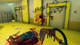 Image for Viscera Cleanup Detail adds graffiti to scrub in new level