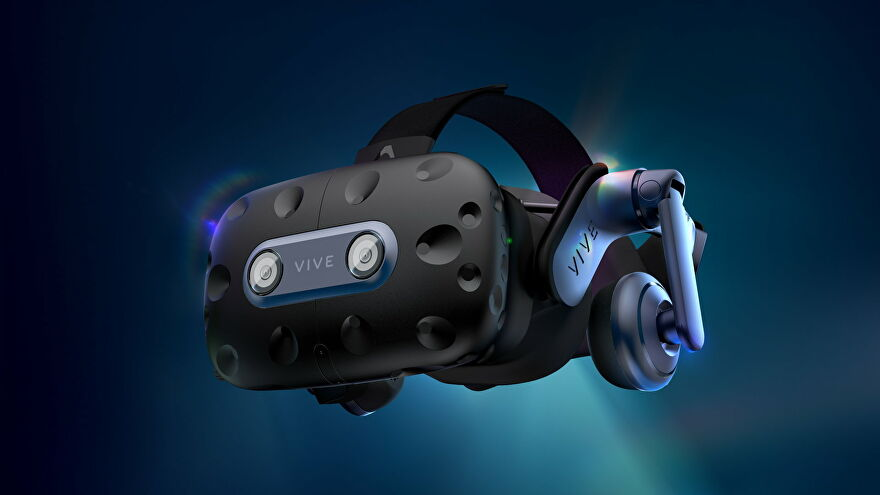 Photos of the HTC Vive Pro 2 VR headset