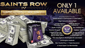 Image for Why Not: Saints Row 4 Gets $1 Million Special Edition