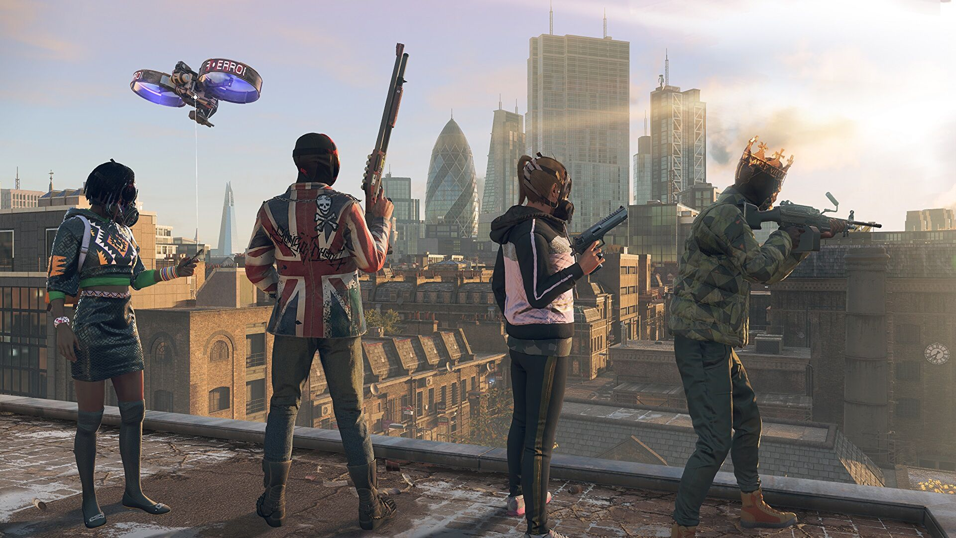 Watch Dogs Legion's online mode launches in March