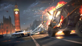 Image for Watch Dogs Legion's perfectly normal London features flying cars, cyborgs and ghosts