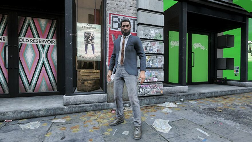 A shot of a man in a suit in Watch Dogs Legion Bloodline