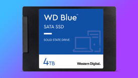 a photo of the wd blue sata ssd, with a 4tb capacity listed and the common 2.5-inch size