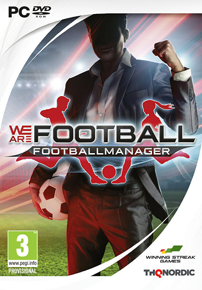 The PC box art for We Are Football.