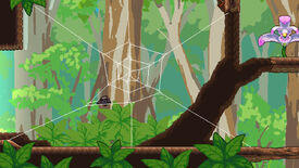 Image for Webbed, an adorable platformer about being a spider, is out next month