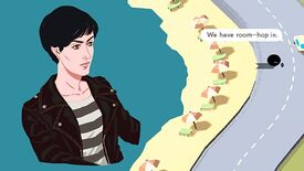 Image for Wheels Of Aurelia Is A Narrative Driving Game