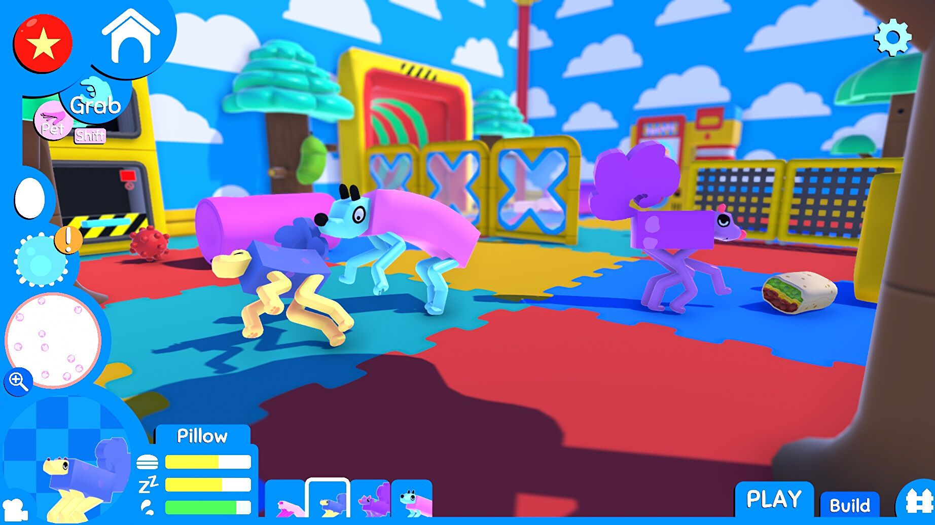 Blocky physics-based pet sim Wobbledogs hits early access today
