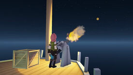 Image for Worlds Adrift Showcases Cannon Fire Gameplay