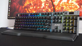 Image for XPG's first Cherry MX keyboard is a comfy beaut