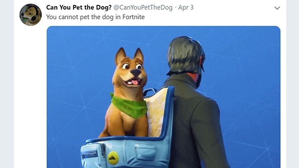 """The """"Can You Pet the Dog?"""" Twitter account is reshaping the games industry"""