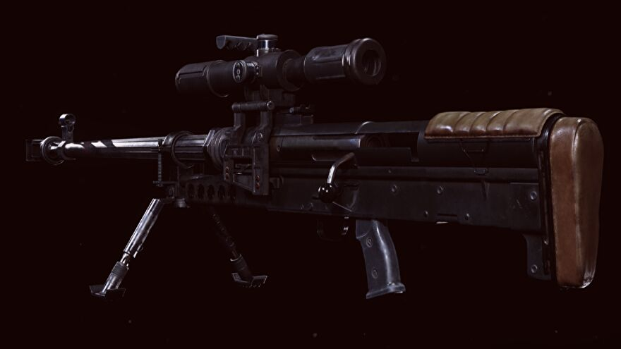 The ZRG Sniper Rifle in Warzone
